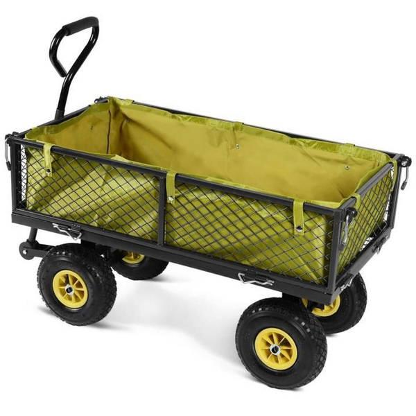 Chariot De Jardin Métal Pliable Xxl : [OFFRE SPÉCIALE] - Test et Avis - Livraison Rapide