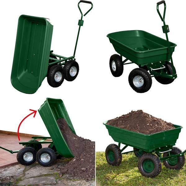 Chariot De Jardin Pour Tracteur Tondeuse : Guide d'achat - Avis et Prix