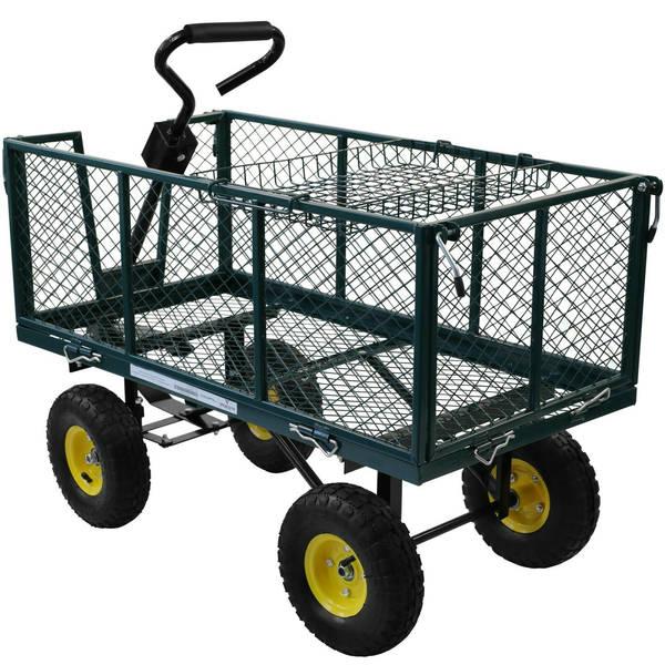 Chariot Remorque Jardin : Guide d'achat - Avis et Prix - Livraison Rapide
