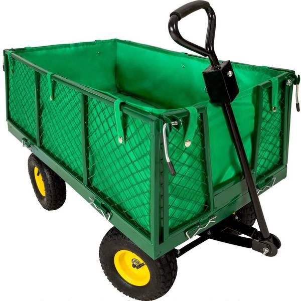 Chariot De Jardin Avec Benne Basculante : Guide d'achat - Acheter pas cher - Livraison Rapide
