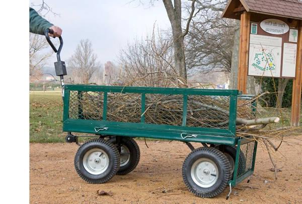 Chariot 4 Roues Jardin : Comparez les Offres - Avis - Boutique en Ligne