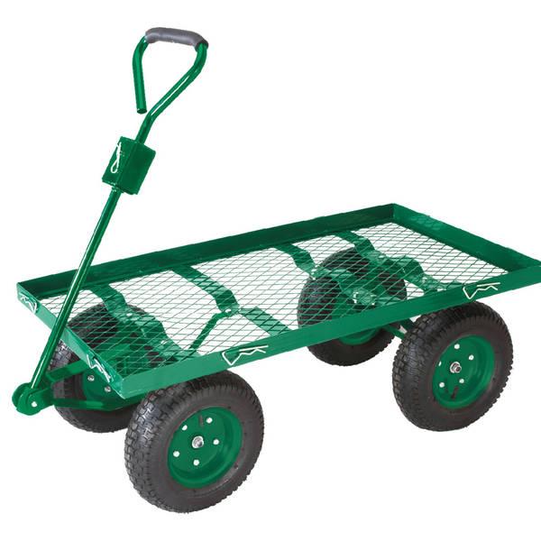 Chariot De Jardin Avec Roues Increvables : Comparez les Offres - Test Complet - Livré en 48h
