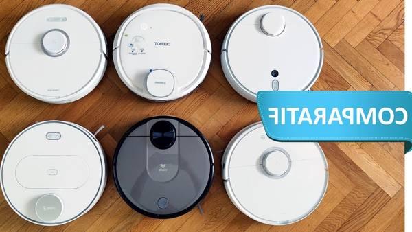 Robot aspirateur et laveur connecté watermop gyro  filtre hepa : Catalogue 2020 - Avis et Prix