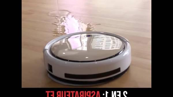 Aspirateur robot xiaomi laveur : Livraison Express