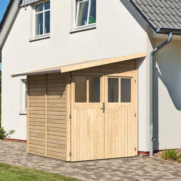 Abri de jardin pvc duramax woodstyle premium 8 02 m2 : Comparatif et Prix