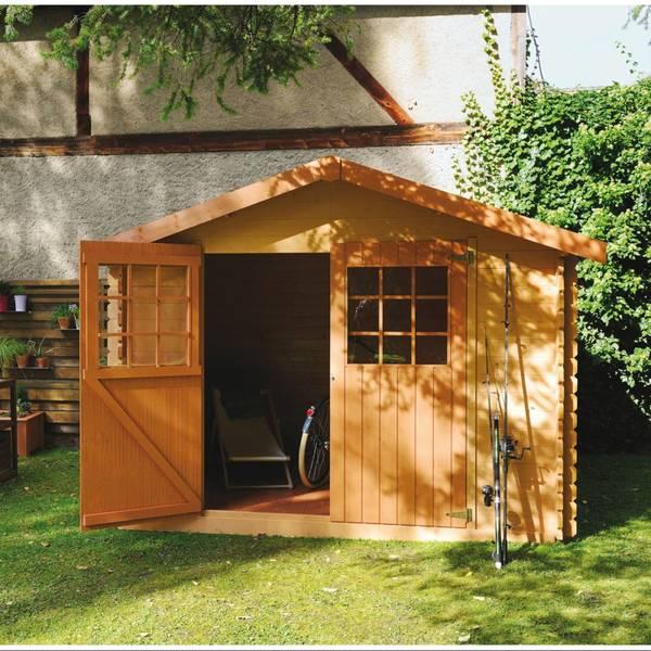 Abri de jardin en bois 34mm : Comparateur en Ligne
