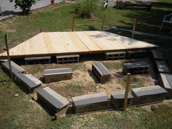 Installer abri de jardin sans dalle beton : Promo et Soldes